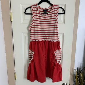 Marc by Marc Jacobs red and white striped dress